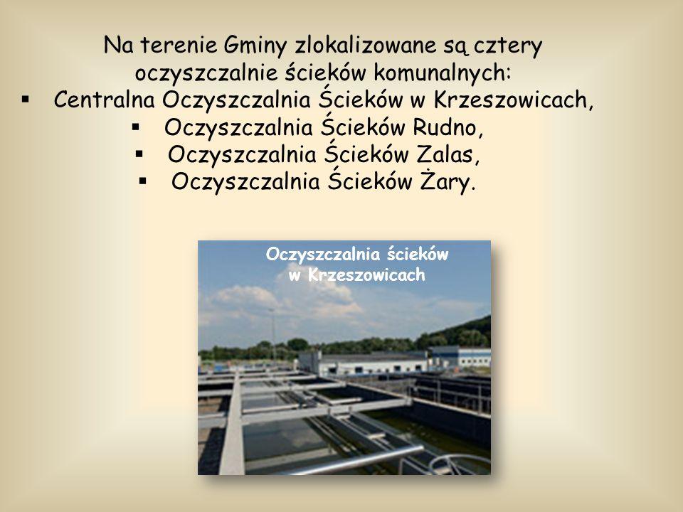 Oczyszczalnia ścieków w Krzeszowicach