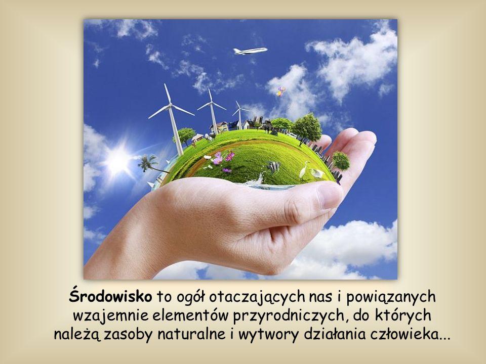 Środowisko to ogół otaczających nas i powiązanych wzajemnie elementów przyrodniczych, do których należą zasoby naturalne i wytwory działania człowieka...