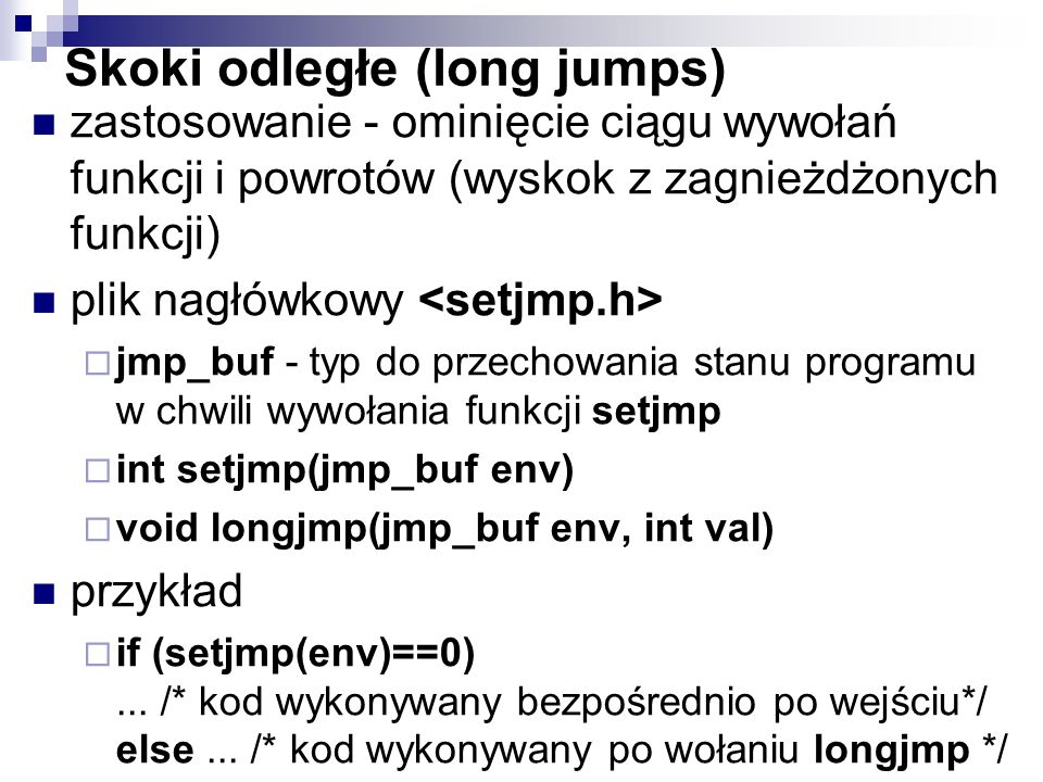 Skoki odległe (long jumps)