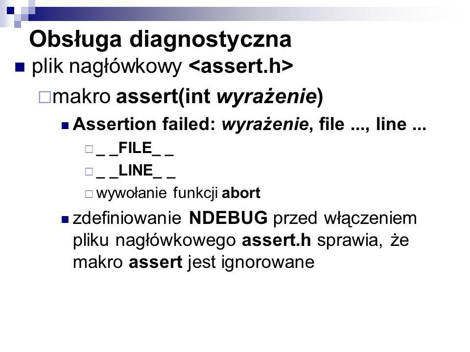 Obsługa diagnostyczna