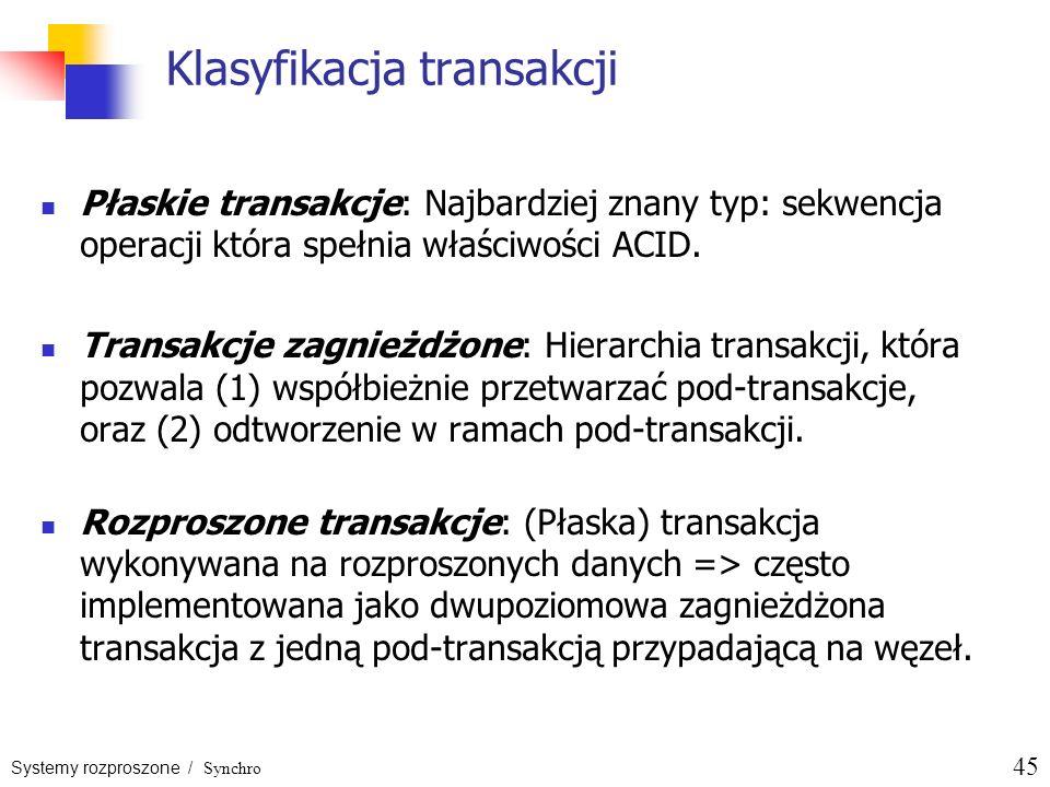 Klasyfikacja transakcji
