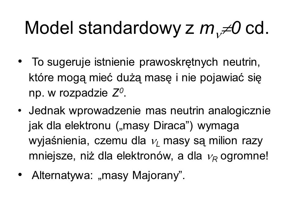 Model standardowy z mn0 cd.