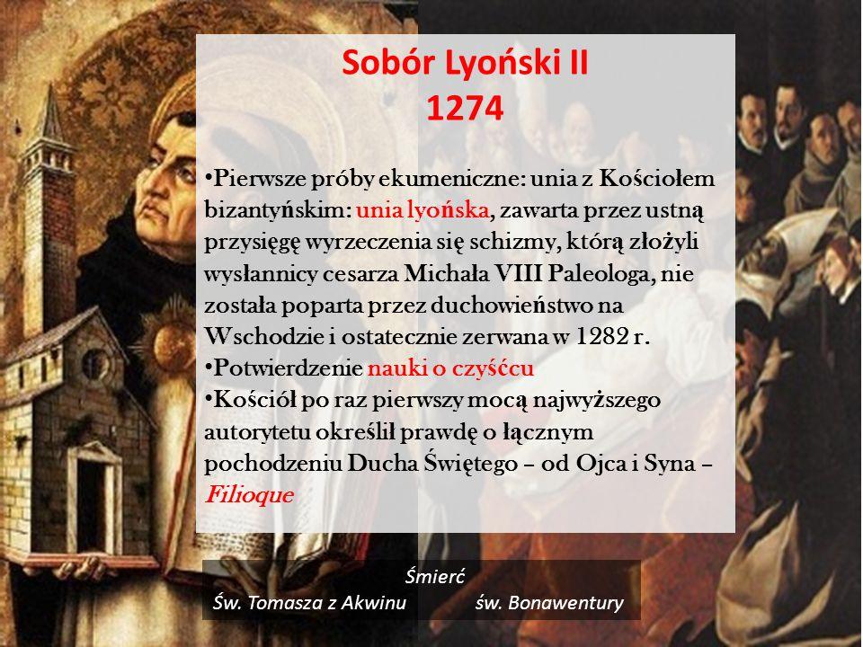 Św. Tomasza z Akwinu św. Bonawentury