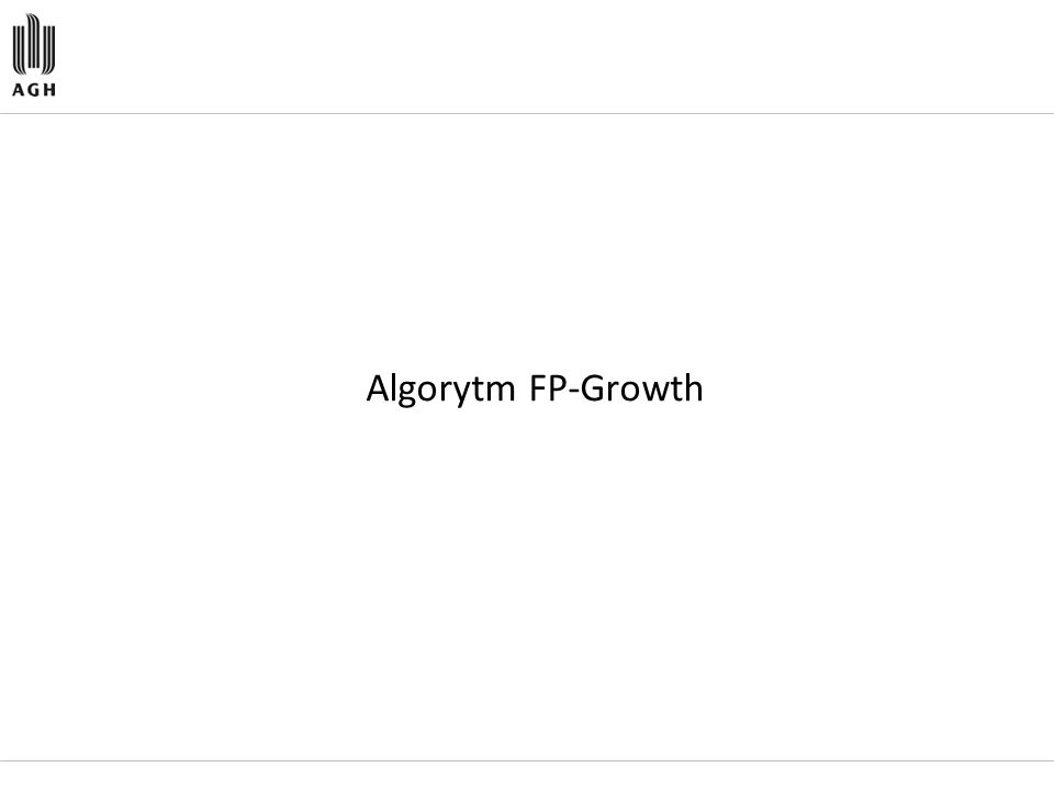 Algorytm FP-Growth