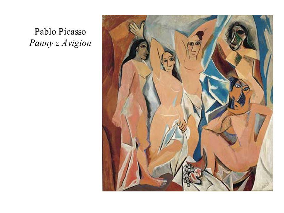 Pablo Picasso Panny z Avigion