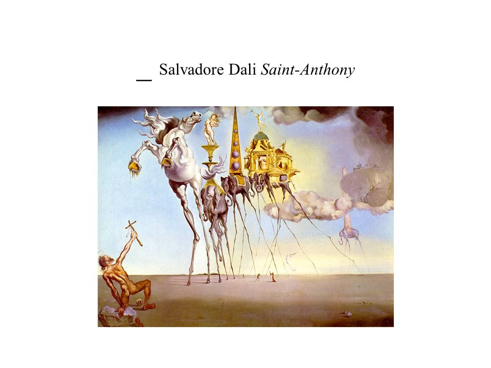 _ Salvadore Dali Saint-Anthony