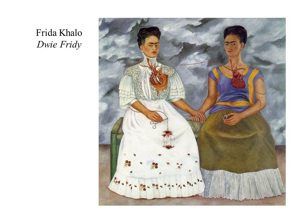 Frida Khalo Dwie Fridy two_fridas