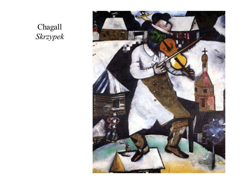Chagall Skrzypek