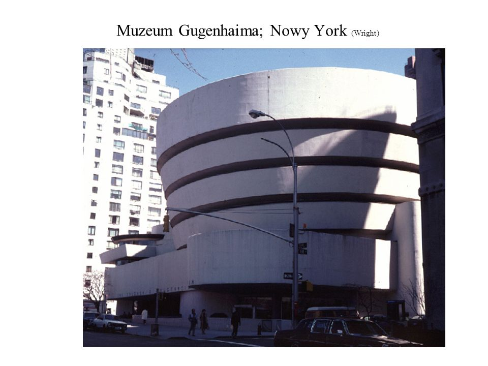 Muzeum Gugenhaima; Nowy York (Wright)
