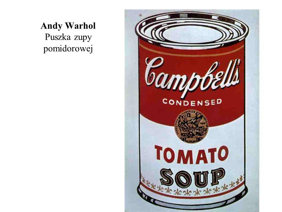 Andy Warhol Puszka zupy pomidorowej