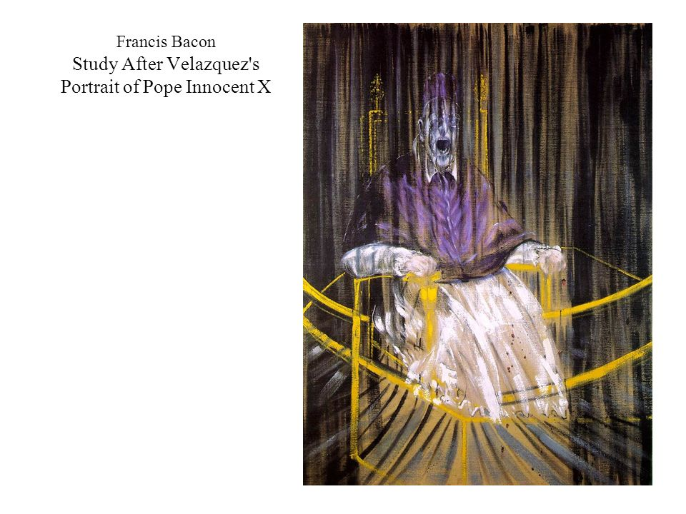 Francis Bacon Study After Velazquez s Portrait of Pope Innocent X