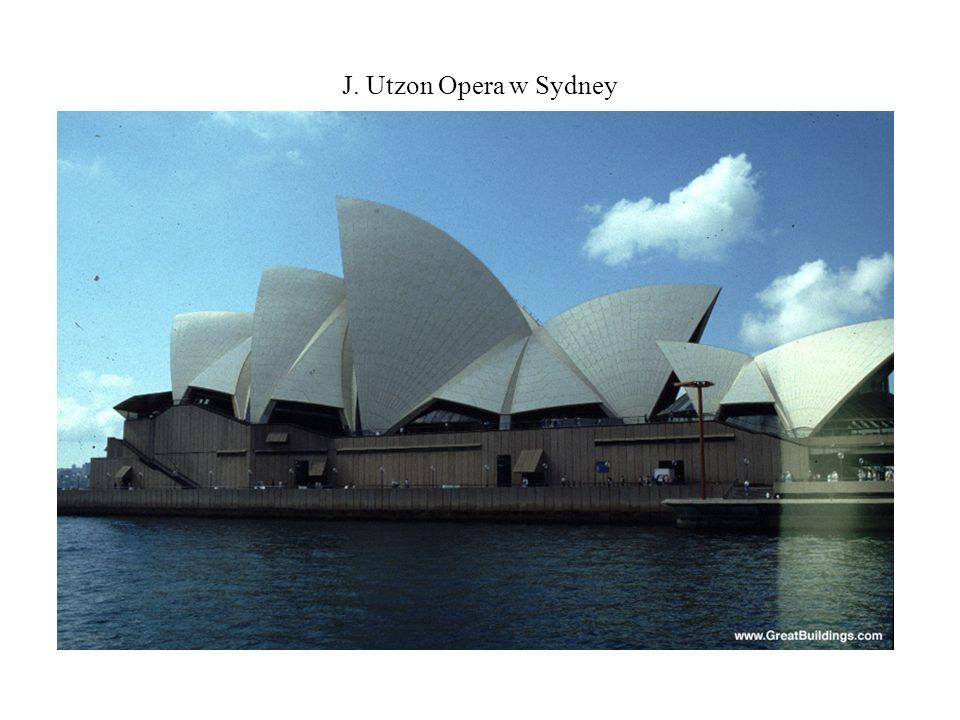 J. Utzon Opera w Sydney