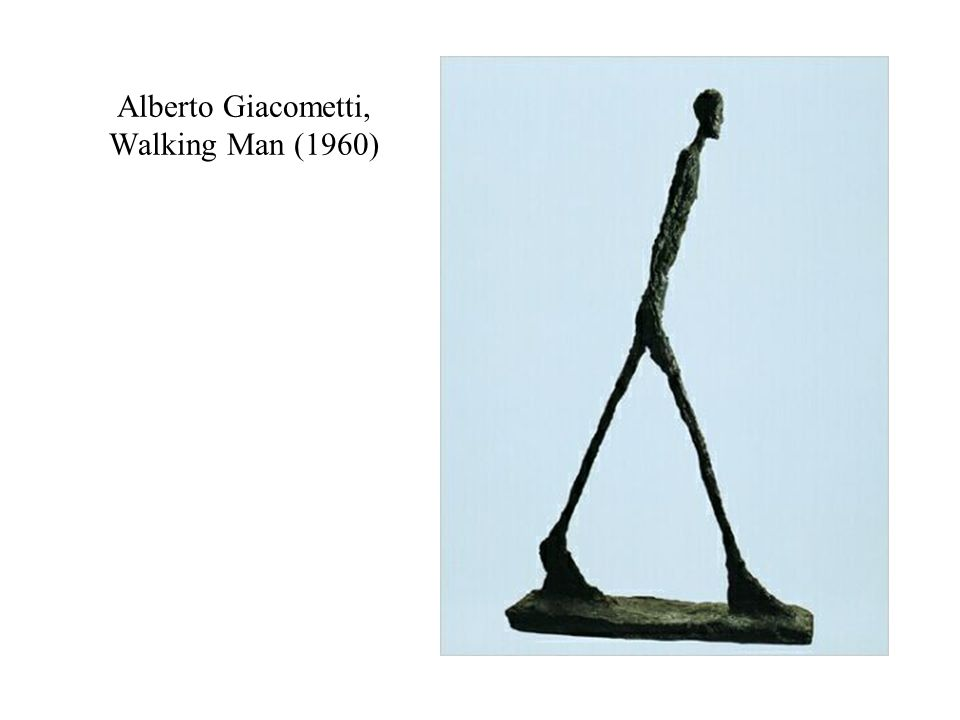 Alberto Giacometti, Walking Man (1960)