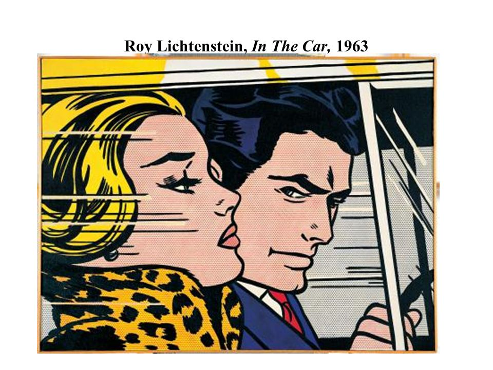Roy Lichtenstein, In The Car, 1963