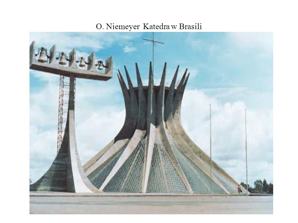 O. Niemeyer Katedra w Brasili