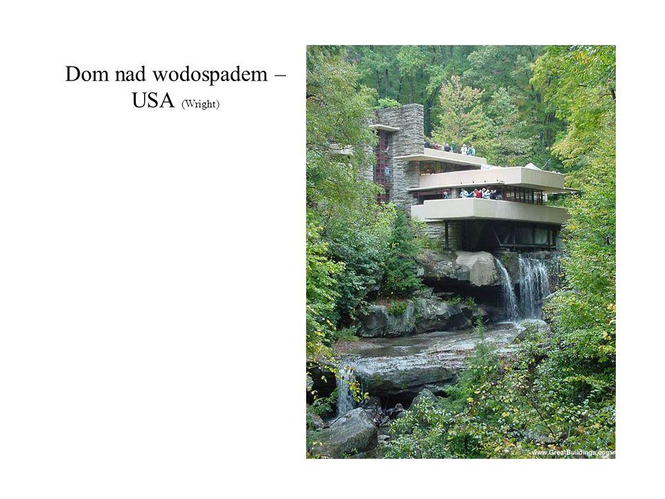 Dom nad wodospadem –USA (Wright)