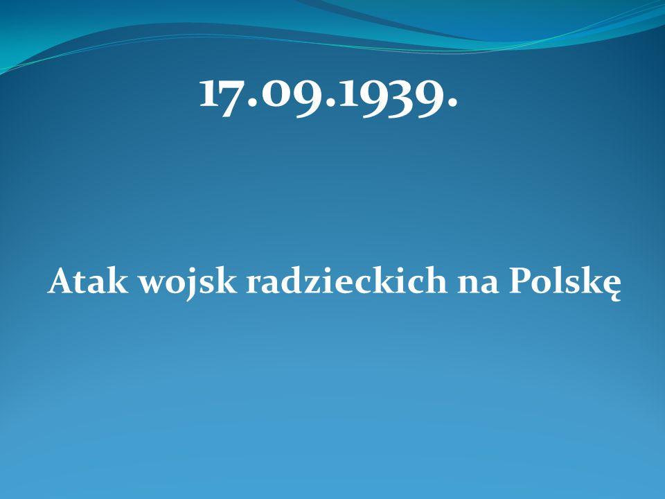 Atak wojsk radzieckich na Polskę