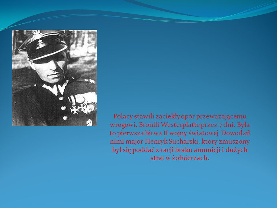 Polacy stawili zaciekły opór przeważającemu wrogowi