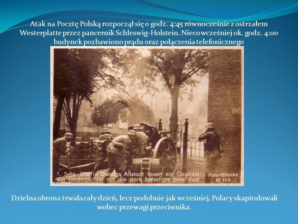 Atak na Pocztę Polską rozpoczął się o godz