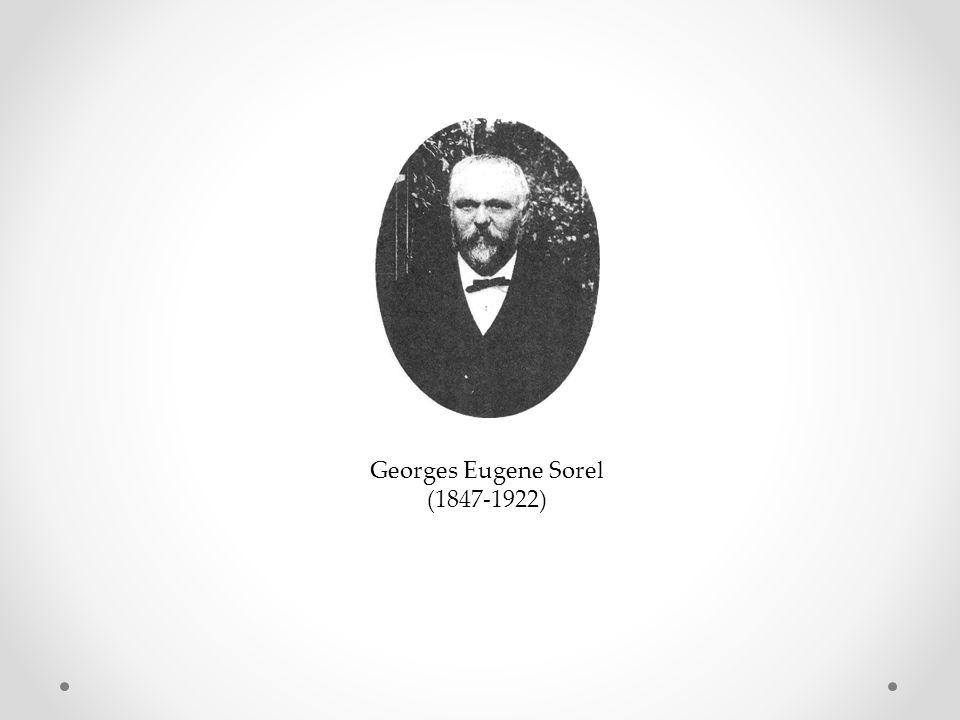 Georges Eugene Sorel (1847-1922)