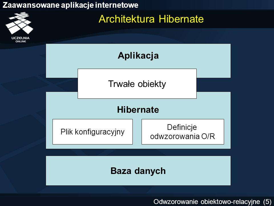 Architektura Hibernate