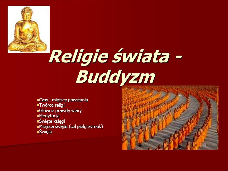 Religie świata - Buddyzm