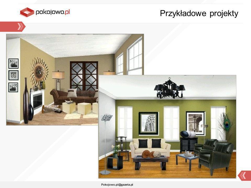 Przykładowe projekty Pokojowo.pl@gazeta.pl