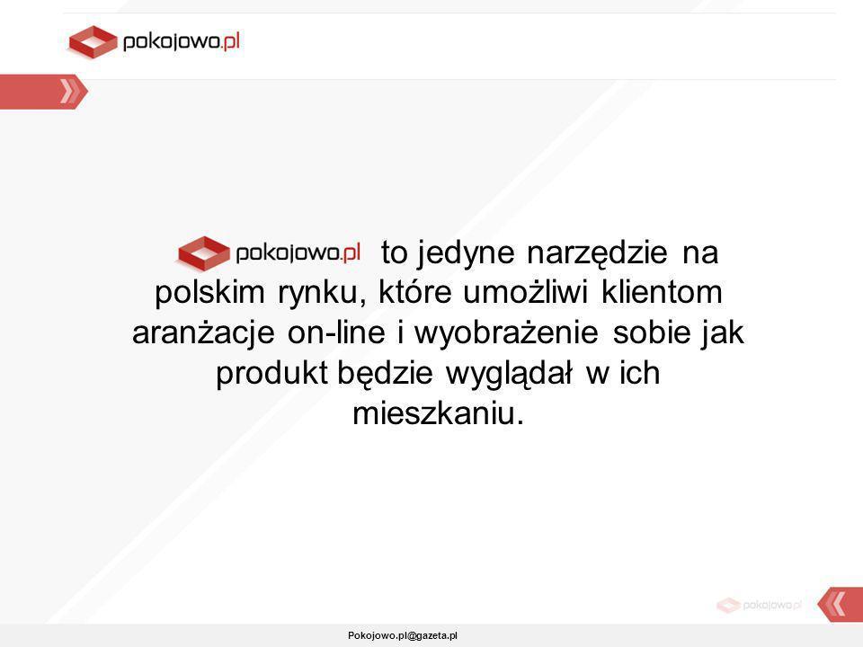 to jedyne narzędzie na polskim rynku, które umożliwi klientom aranżacje on-line i wyobrażenie sobie jak produkt będzie wyglądał w ich mieszkaniu.