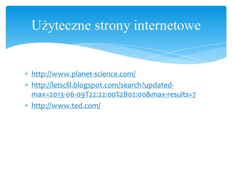 Użyteczne strony internetowe