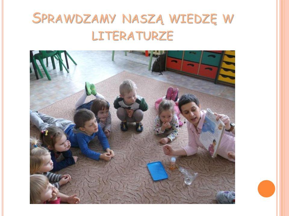 Sprawdzamy naszą wiedzę w literaturze