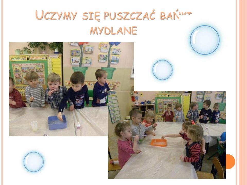 Uczymy się puszczać bańki mydlane