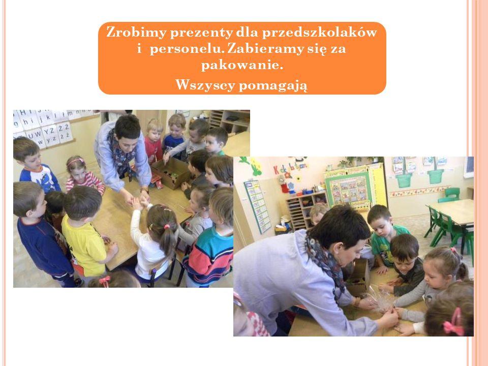 Zrobimy prezenty dla przedszkolaków i personelu