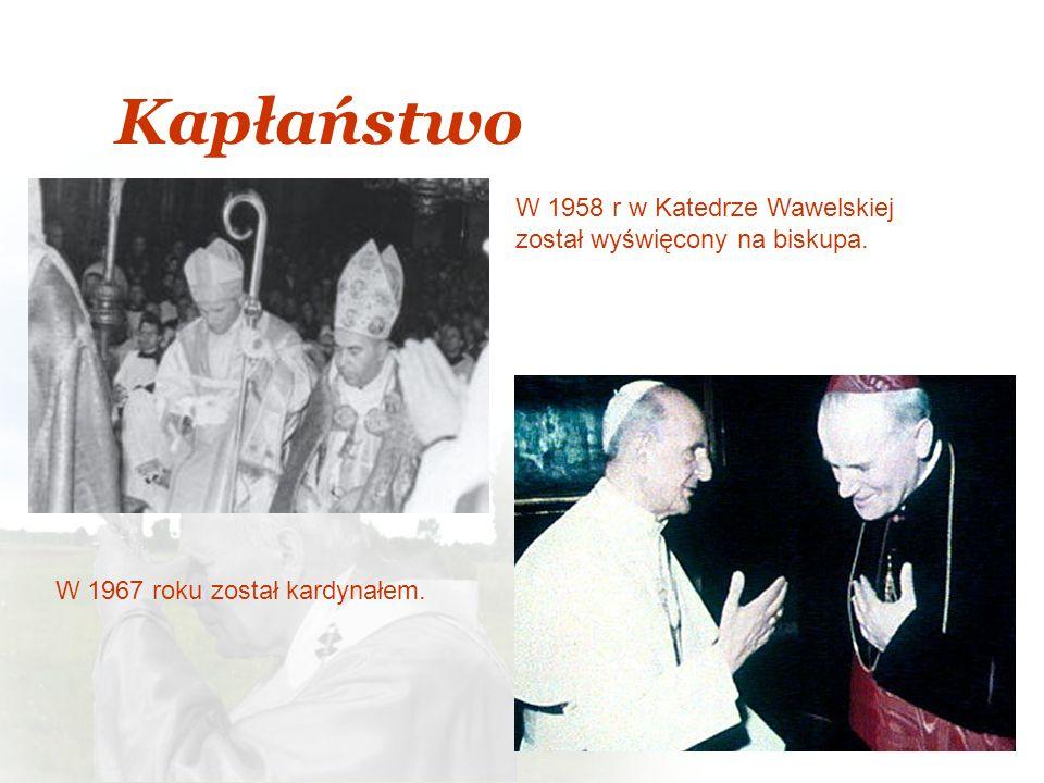 Kapłaństwo W 1958 r w Katedrze Wawelskiej został wyświęcony na biskupa.