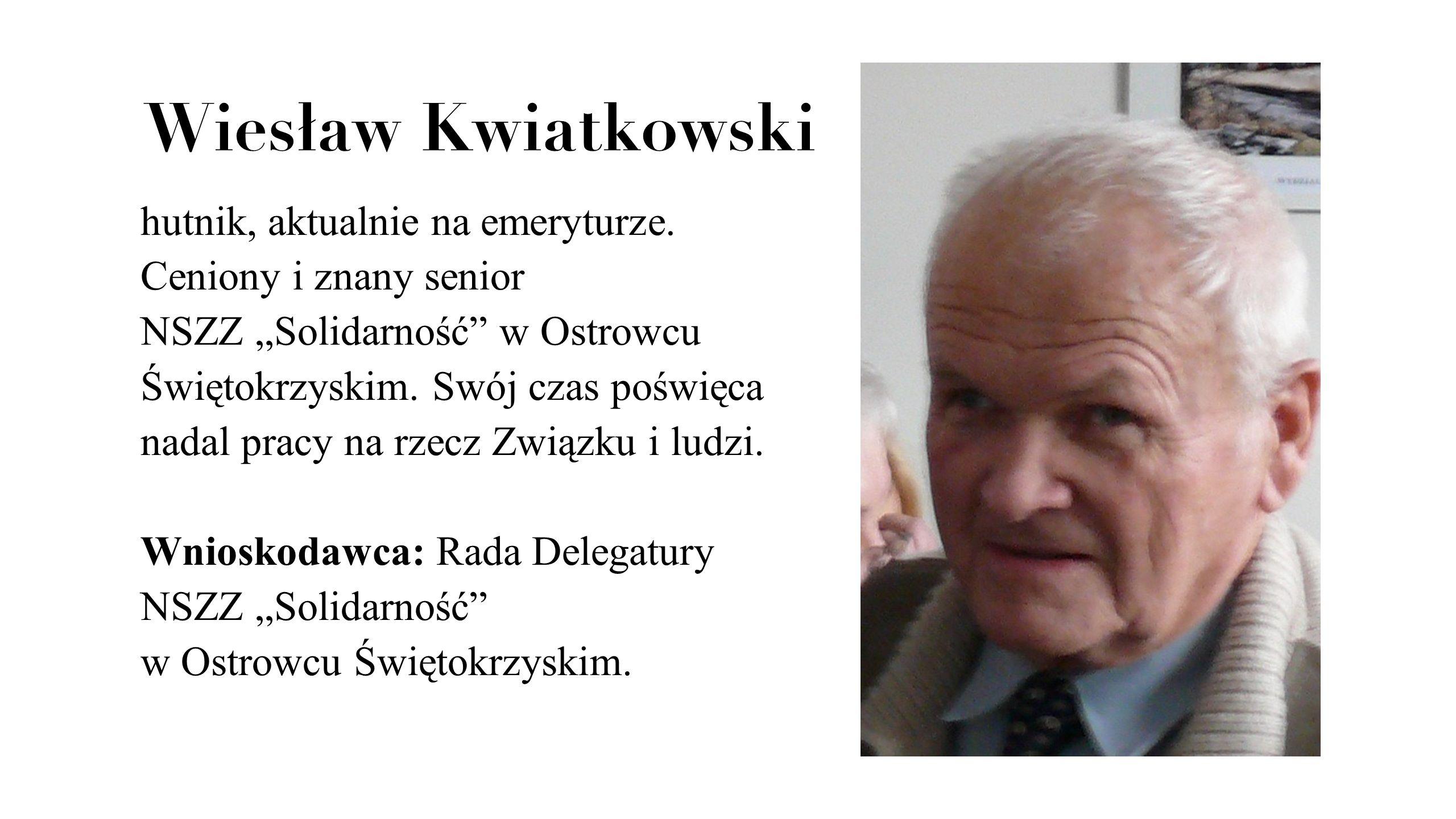 Wiesław Kwiatkowski