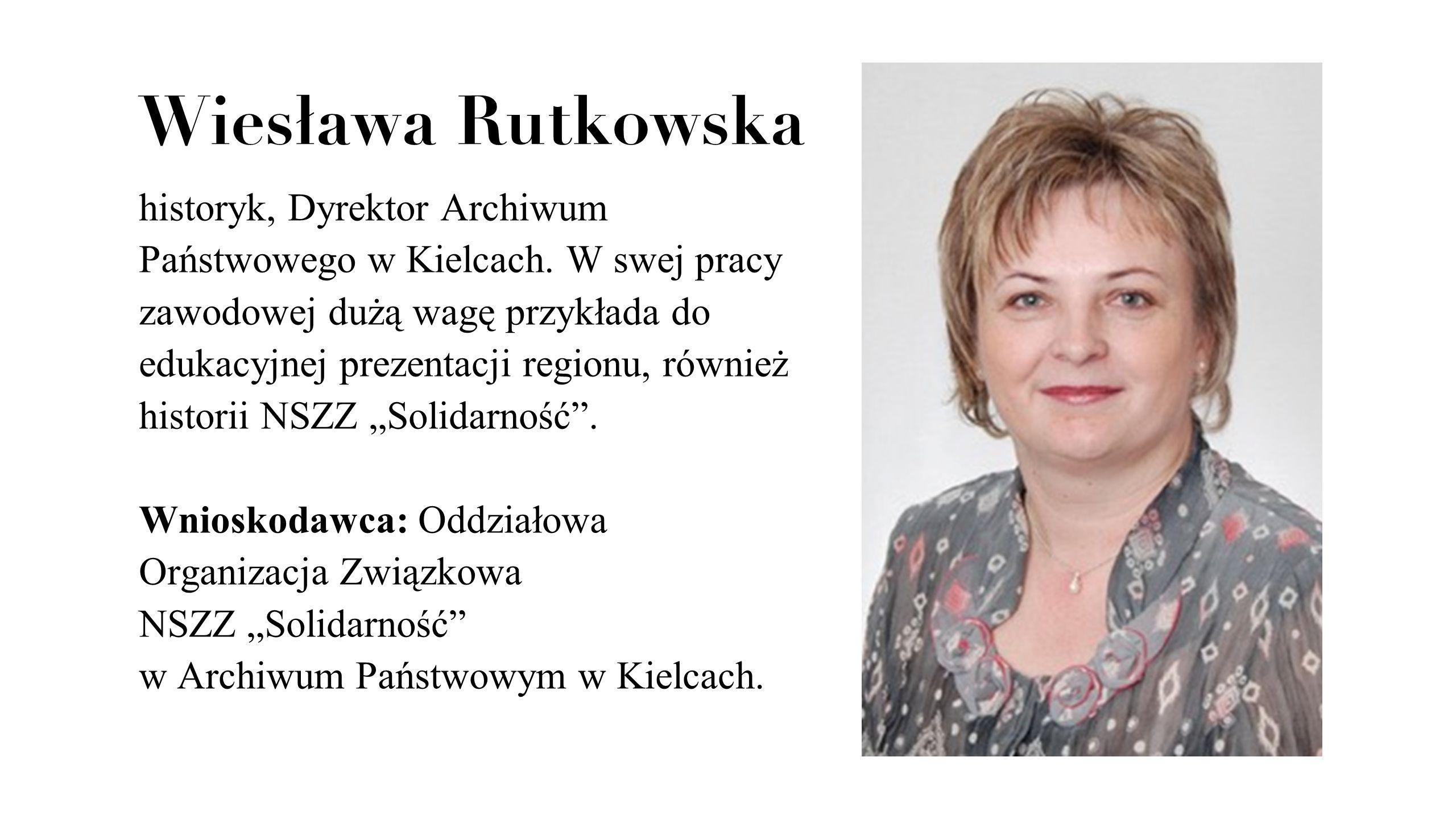 Wiesława Rutkowska