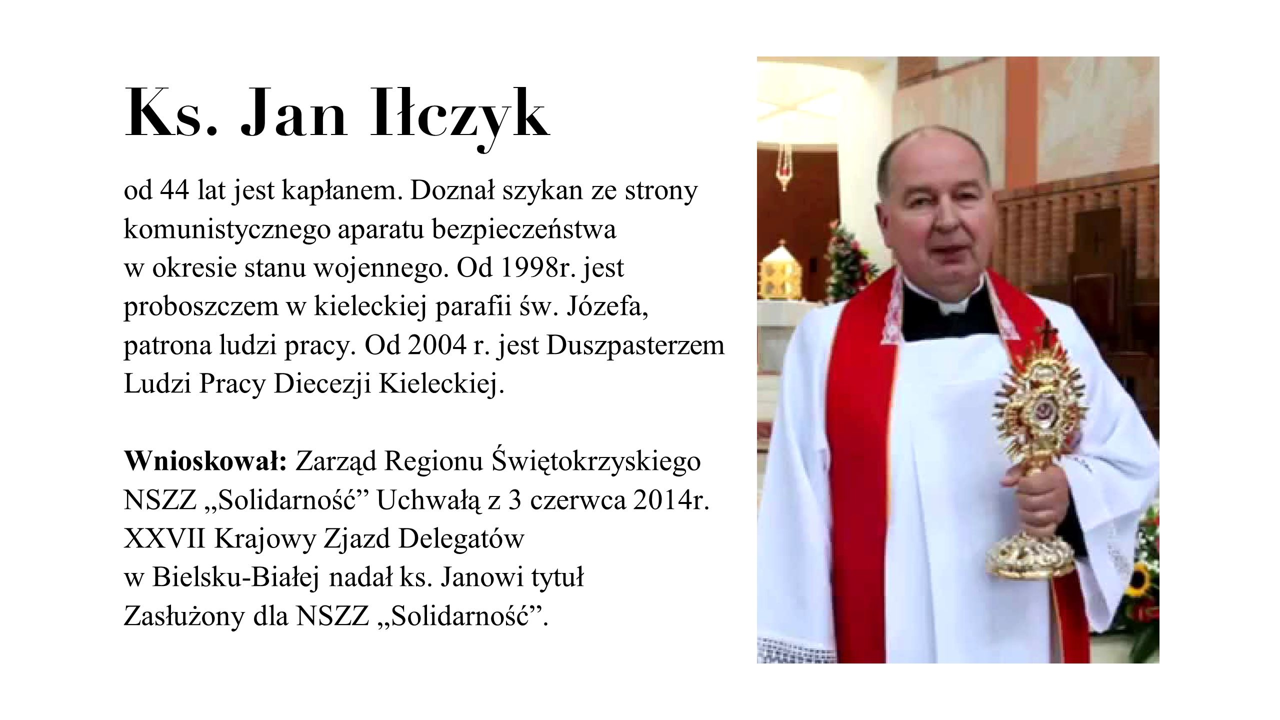 Ks. Jan Iłczyk