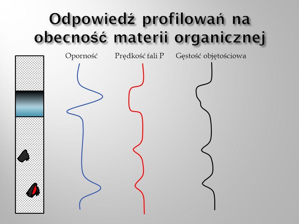 Odpowiedź profilowań na obecność materii organicznej