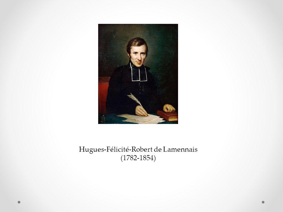 Hugues-Félicité-Robert de Lamennais