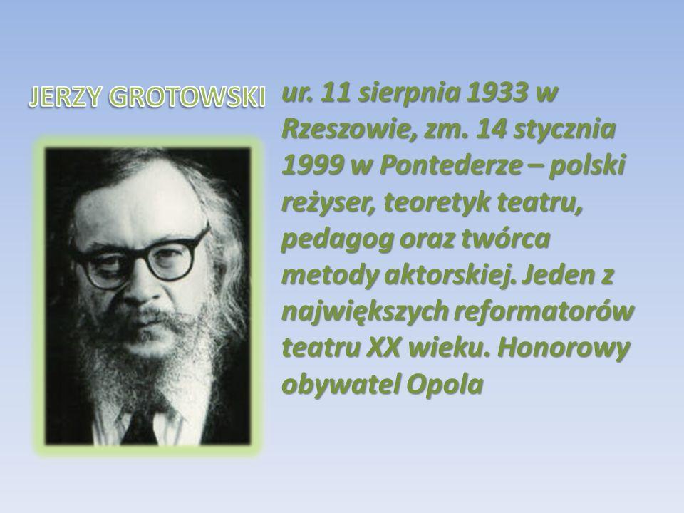 ur. 11 sierpnia 1933 w Rzeszowie, zm