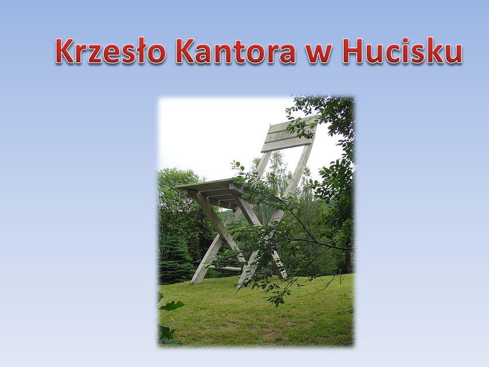 Krzesło Kantora w Hucisku