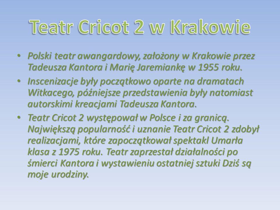 Teatr Cricot 2 w Krakowie
