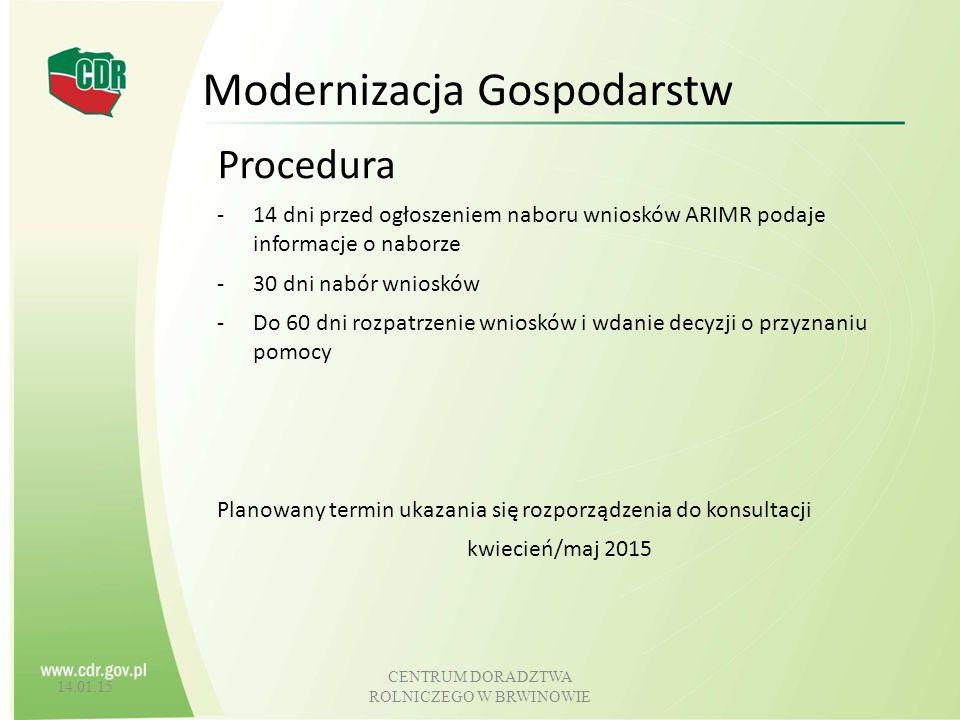 Modernizacja Gospodarstw