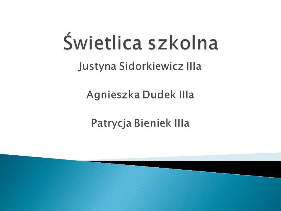 Justyna Sidorkiewicz IIIa Agnieszka Dudek IIIa Patrycja Bieniek IIIa