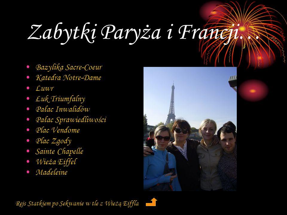 Zabytki Paryża i Francji…