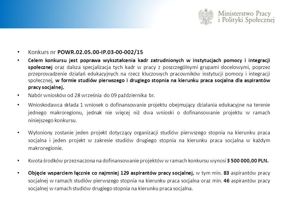 Konkurs nr POWR.02.05.00-IP.03-00-002/15