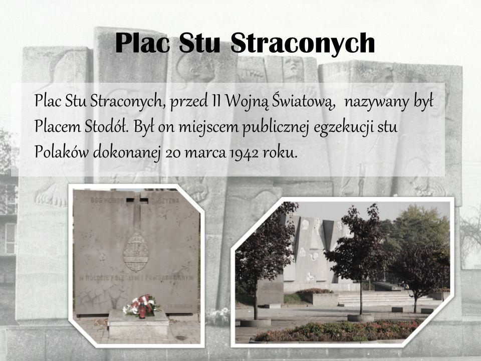 Plac Stu Straconych