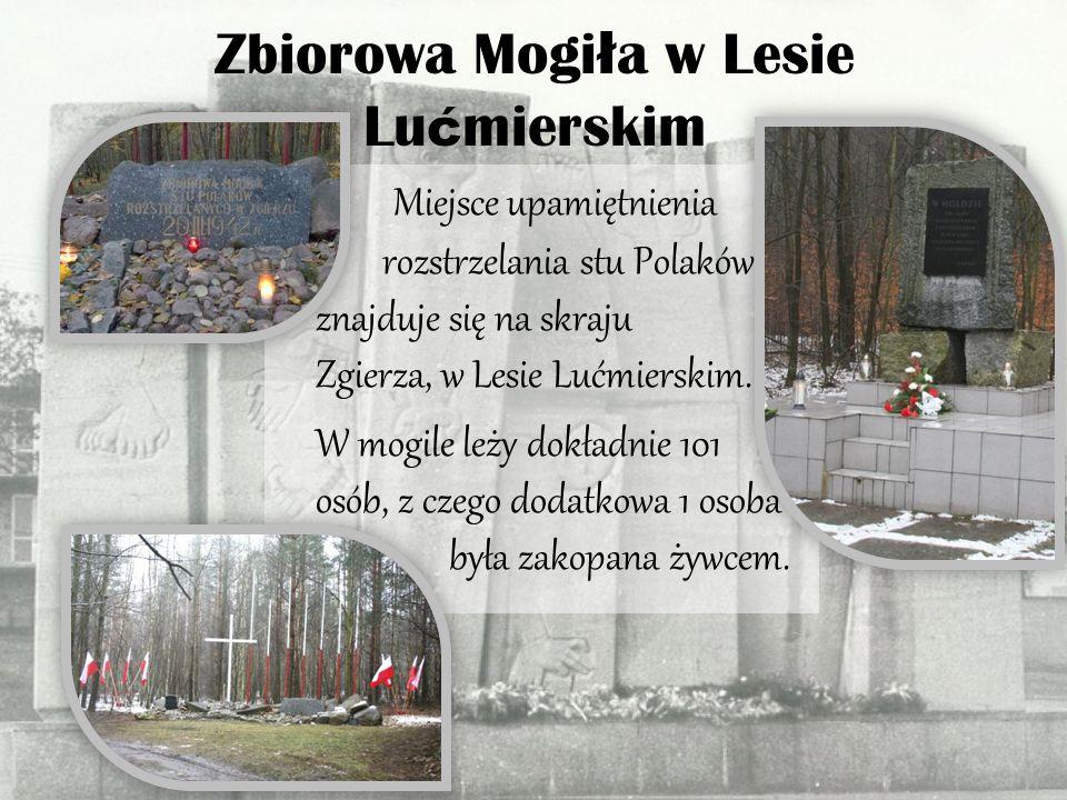 Zbiorowa Mogiła w Lesie Lućmierskim