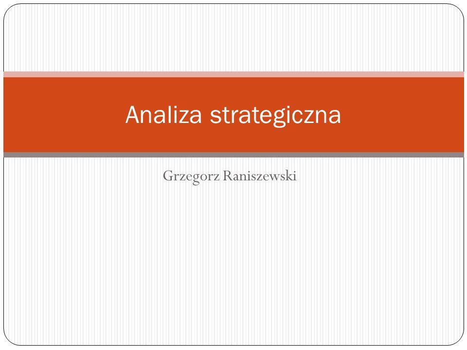 Analiza strategiczna Grzegorz Raniszewski