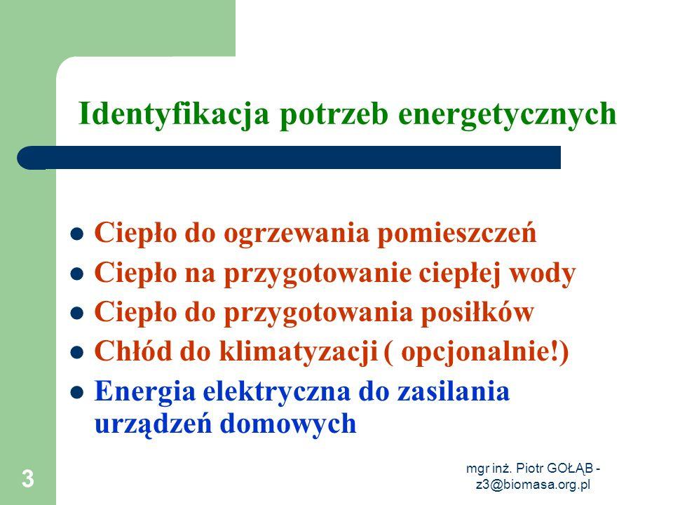 Identyfikacja potrzeb energetycznych