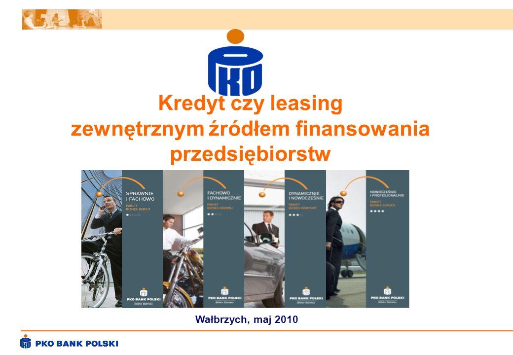 zewnętrznym źródłem finansowania przedsiębiorstw
